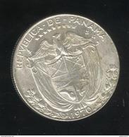 1/2 Balboa Panama 1970 - TTB+ - Panama