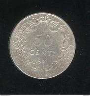 50 Centimes Belgique 1911 - TTB - 1909-1934: Albert I