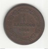 1 Baiocco 1850 - TTB+ - Vatican