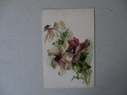 FLEURS VIOLETTES  RAPHAEL TUCK & FILS  SERIE 1.   5. - Blumen