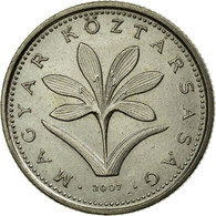 Monnaie, Hongrie, 2 Forint, 2007, TTB, Copper-nickel, KM:693 - Hongrie