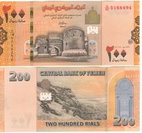 YEMEN ARAB REP.   New 200 Rials.  2018. Pnew.   UNC - Yémen