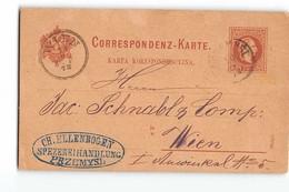 16868 WIEN - CH. ELLENBOGEN SPEZEREIHANDLUNG PRZEMYSL - Interi Postali