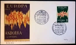 ANDORRA EUROPA'72 - Francobolli