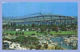 CPSM Couleurs -  (USA) - The San Diego-Coronado Bridge - San Diego