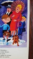 USSR, Soviet Postcard. Dachshund - Dachshound - Teckel - Dackel - Bassotto  1980s - Cani