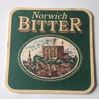 Posavasos Cerveza Norwich Bitter. Norfolk, Reino Unido. Años '90 - Sous-bocks