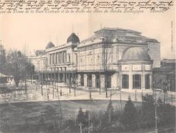 BELGIQUE - ANVERS - Carte à Volet - Dôme De La Gare Centrale Et De La Salle Des Fêtes Du Jardin Zoologique - Antwerpen