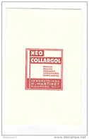 Buvard Néo Collargol - Laboratoire H. Martinet - Très Bon état - Droguerías