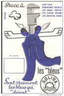 Buvard Les Bleus Solida - Très Bon état - Textilos & Vestidos