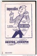 Buvard Flanelle De Coton DESTRE CHERPIN - Très Bon état - Textilos & Vestidos