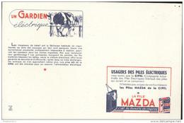 Buvard Mazda - Gardien éléctrique - Très Bon état - Piles