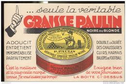 Buvard Graisse Paulin - Très Bon état - Produits Ménagers