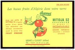 Buvard Sirop Mitidja 52 - 20,8 X 13,5 Cm - Buvards, Protège-cahiers Illustrés