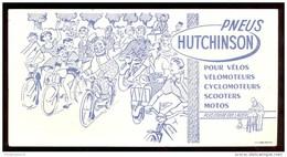 Buvard Hutchinson - 20,8  X 10,5 Cm - Buvards, Protège-cahiers Illustrés