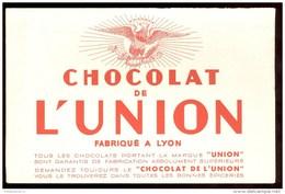Buvard Chocolat De L'Union - 21 X 13,5 Cm - Chocolat