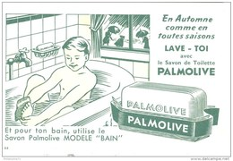 Buvard Palmolive - 17 X 11 Cm - Buvards, Protège-cahiers Illustrés