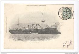 CPA Toulon  - Marine Militaire Française - Le Tage - Circulée 1904 - Toulon