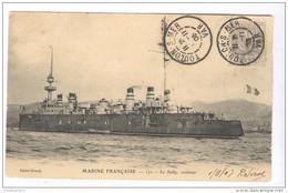 CPA Toulon  - Marine Française - Le Sully , Croiseur - Circulée 1903 - Toulon