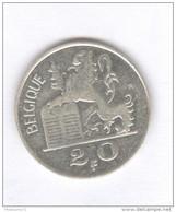 20 Francs Belgique 1950 - 1945-1951: Régence