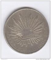 8 Reales 1893 Mexique / Mexico - TTB - Mexico
