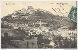 CPA Saint Flour - Vue Générale -  Circulée 1910 - Saint Flour