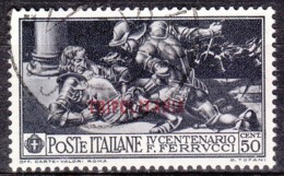 1930 -  TRIPOLITANIA - Ferrucci C. 50 - Usato - Tripolitania