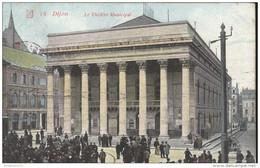 CPA Dijon - Théâtre Municipal  -  Circulée - Dijon