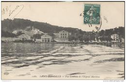 CPA Saint Mandrier - Vue Générale De L'Hôpital Maritime - Circulée 1911 - Saint-Mandrier-sur-Mer