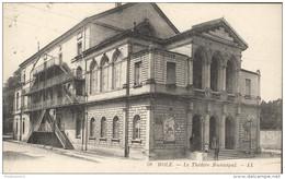 CPA Dole - Théâtre Municipal - Circulée 1923 - Dole