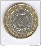 Argentine - 2 Pesos - 2013 Bi-métallique / Bimetalic - Argentinië