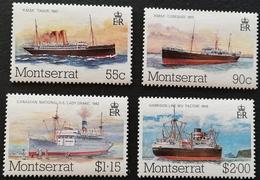 Montserrat   1984 Packet Boats - West Indies