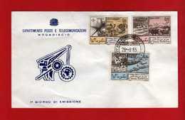 (Riz2) SOMALIA - 1965 FDC. FOIRE INTERNATIONALE. Yvert 39/41. Complète.  Vedi Descrizione - Somalia (1960-...)