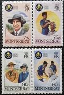 Montserrat  1986 Girl Guides.50th. Anniv. - Antilles