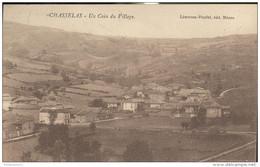 CPA Chasselas - Un Coin Du Village - Circulée 1924 - Andere Gemeenten