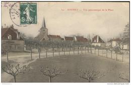 CPA Aiserey - Vue Panoramique De La Place -  Circulée 1907 - France