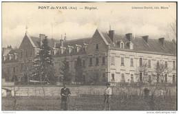 CPA Pont De Vaux - Hôpital - Circulée 1922 - Pont-de-Vaux