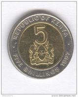 Kenya - 5 Shillings - 1997 Bi-métallique / Bimetalic - UNC - Kenya