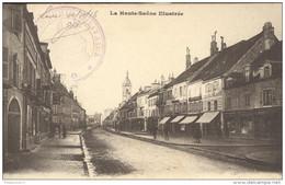 CPA Lure - Grande-Rue - Dos Divisé - Circulée En 1916 - Lure