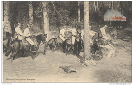 CPA La Cavalerie Légère En Manoeuvres - Passage D'un Gué - Circulée 1914 - Personnages