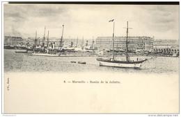 Marseille - Bassin De La Joliette - Dos Non Séparé - Non Circulée - Non Classés