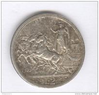 2 Lires Italie / Italia 1916 - Victor Emmanuel III - Argent / Silver - SUP - 1861-1946 : Kingdom