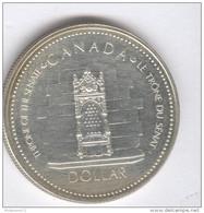 1 Dollar Canada 1977 - Commémorative - Jubilée Elisabeth II - Argent - KM# 118 - Canada