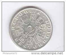 2 Schilling Autriche / Austria 1928 - Argent / Silver - TTB+ - Autriche
