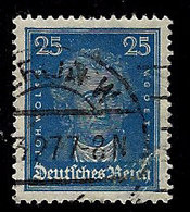 Germany 1925, #358 Goethe, 25pf, Used,HR, NG - Allemagne