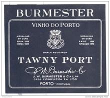 Etiquette  Porto Burmester - Circa 1900 - Neuve ( Ancien Stock D'imprimeur ) - Etiquettes