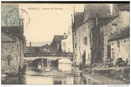 CPA Vitteaux Le Pont De L'Horloge - Circulé 1907 - France
