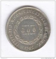 500 Réis Brésil 1862 - TTB - Brésil