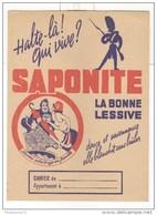 Protège Cahier Saponite - Très Bon état - Produits Ménagers