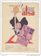 Protège Cahier  Levure Alsa - Très Bon état - Buvards, Protège-cahiers Illustrés